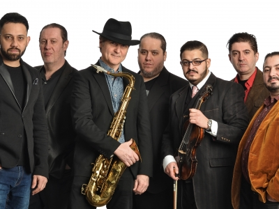 <div>From Budapest –</div>  East Gipsy Band Featuring Rolling Stones Saxophonist Tim Ries